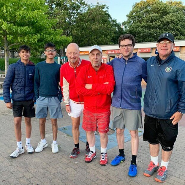 Meadows Tennis Edinburgh Team 2