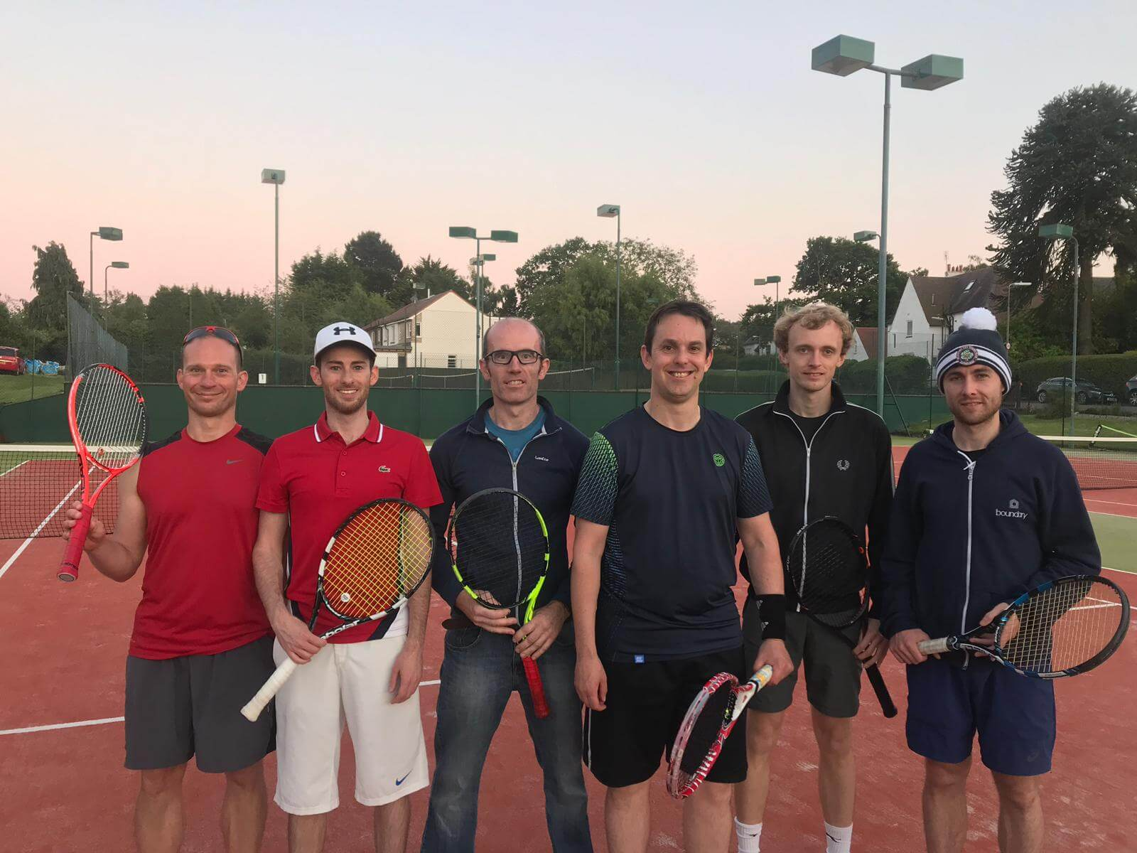 Meadows Tennis Edinburgh Team 1