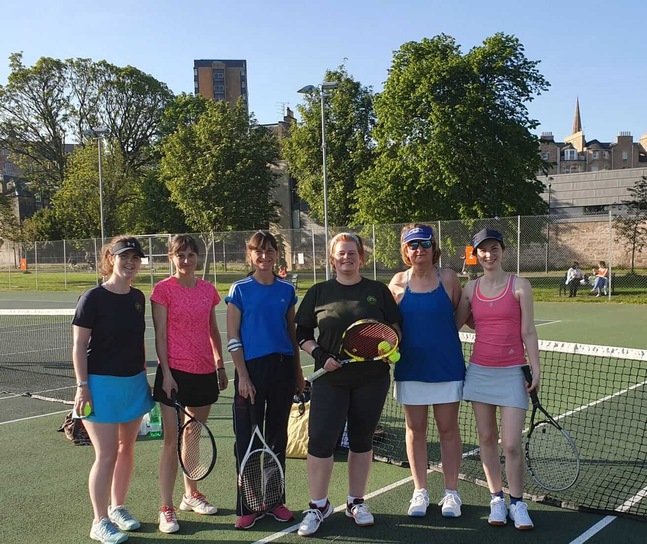 Meadows Tennis Edinburgh Team 1 W
