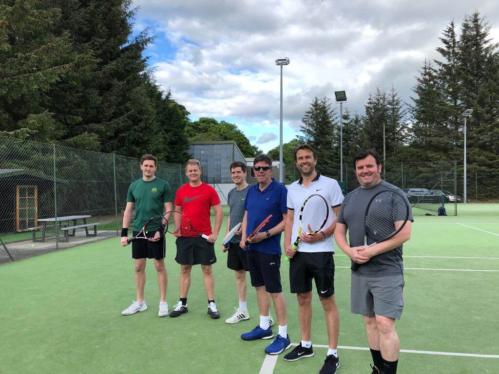 Meadows Tennis Edinburgh Team 4