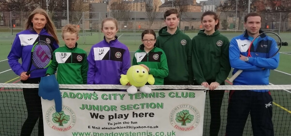 Tennis junior club Edinburgh Meadows
