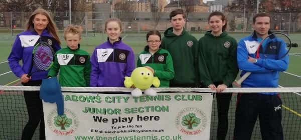 Tennis junior club Edinburgh Meadows
