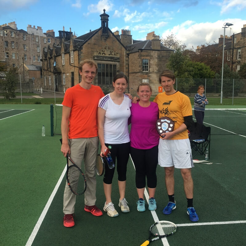 Meadows Tennis Edinburgh Mixed Doubles
